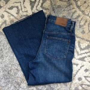 NWOT Madewell Wide Leg Jeans